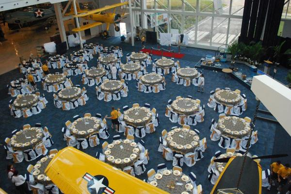 Blue Angel reception at the National Naval Aviation Museum