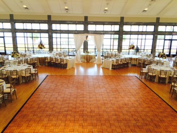Dance Floors Are Often The Centerpiece Of Your Wedding Reception Marry Me Als Provides Oak Black And White Checkered